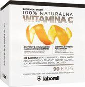 100% Naturalna Witamina C x 90 kapsułek