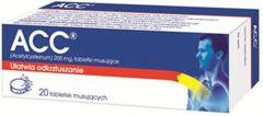 ACC 200 x 20 tabletek musujących