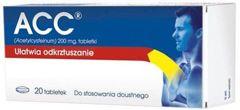 ACC 200mg x 20 tabletek