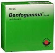 BENFOGAMMA 50mg x 100 tabletek drażowanych