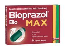 BIOPRAZOL BIO MAX 20mg x 14 kapsułek