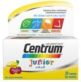 CENTRUM Junior x 30 tabl. do żucia