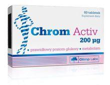 Chrom Activ 200mcg x 60 tabletek