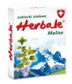 Cukierki ziołowe Herbale melisa 50g