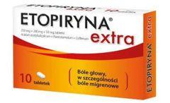 Etopiryna Extra x 10 tabletek