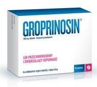 GROPRINOSIN 0,5g x 20 tabletek