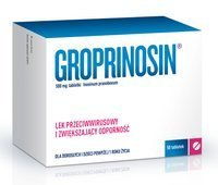 GROPRINOSIN 0,5g x 50 tabletek