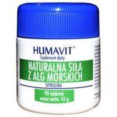 HUMAVIT Spirulina Naturalna siła z alg morskich x 90 tabletek