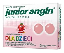 JUNIOR-Angin x 24 tabletki do ssania