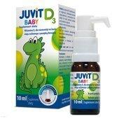JUVIT BABY D3 krople 10ml