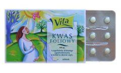 KWAS FOLIOWY 400mcg x 90 tabletek