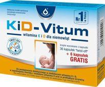 KiD-VITUM Witamina K i D dla niemowląt x 36+6 kapsułek