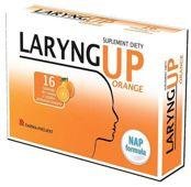 LARYNG UP Orange x 16 tabletek do ssania