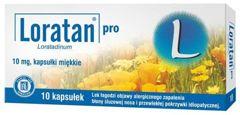 LORATAN Pro 0,01 x 10 kaps.