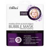 L'biotica Bubble Mask maska oczyszczająca na tkaninie 23ml