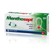 MENTHOSEPT x 20 tabletek do ssania