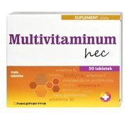 MULTIVITAMINUM HEC x 50 tabletek