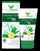 Naturalny krem detox na noc z zieloną herbatą 50ml
