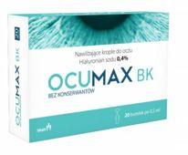 OCUMAX BK 0,4% nawilżające krople do oczu x 20 minimsów