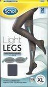 SCHOLL Light Legs Rajstopy uciskowe 20 DEN rozmiar XL czarne x 1 sztuka