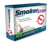SMOKERSTOP x 24 pastylki do ssania
