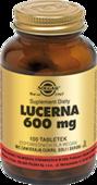 SOLGAR Lucerna 600mg x 100 tabletek