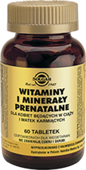SOLGAR Witaminy i minerały prenatalne x 60 tabletek