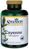 SWANSON Cayenne 450mg x 300 kapsułek