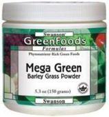 SWANSON Mega Green Barley Grass proszek 150g - data ważności 30-04-2017r.