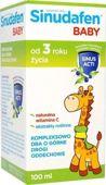 Sinudafen baby syrop dla dzieci 100ml - data ważności 28-02-2017r.
