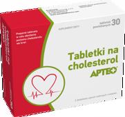 TABLETKI NA CHOLESTEROL Apteo x 30 tabletek