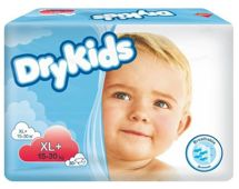 TENA Dry Kids XL+ (15-30kg) x 30 sztuk