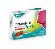 TYMIANEK+PODBIAŁœ FORTE BMS x 16 pastylek do ssania