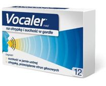 VOCALER x 12 pastylek do ssania