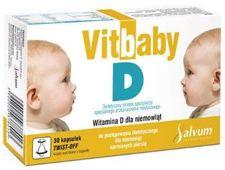VitBaby D x 30 kapsułki twist-off