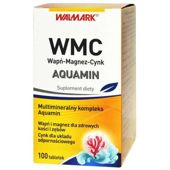 WMC Wapń-Magnez-Cynk AQUAMIN x 100 tabletek
