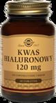 SOLGAR Kwas Hialuronowy 120mg x 30 tabletek