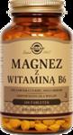SOLGAR Magnez z Witaminą B6 x 100 tabletek