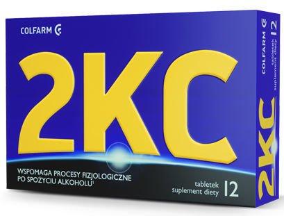 2KC  x 12 tabletek
