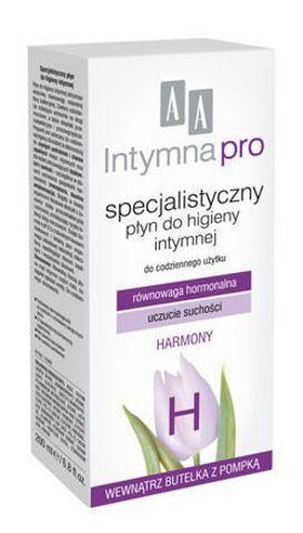 AA INTYMNA PRO HARMONY Specjalistyczny płyn do higieny intymnej 200ml
