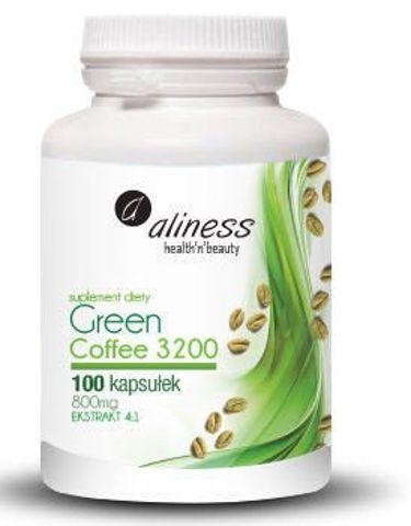 ALINESS Green Coffee (Zielona kawa) 3200 x 100 kapsułek