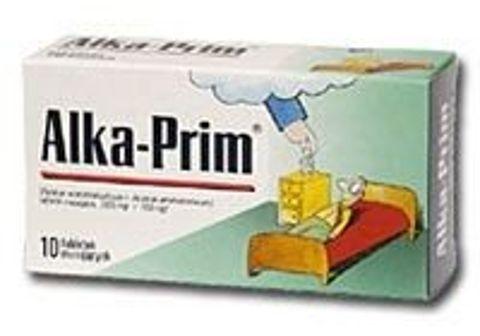 ALKA-PRIM x 10 tabl. musujących