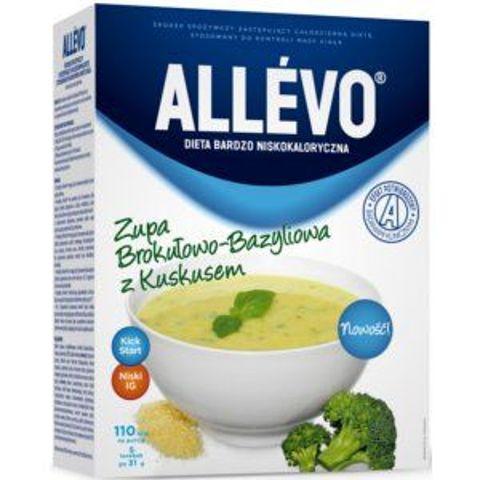 ALLEVO Zupa brokułowo-bazyliowa 155g