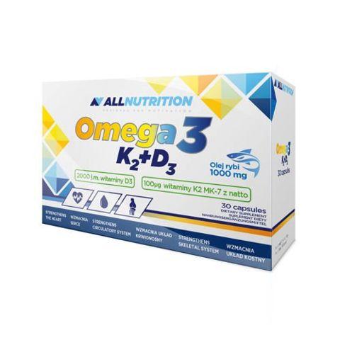 ALLNUTRITION Omega 3 K2 + D3 x 30 kapsułek
