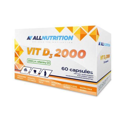 ALLNUTRITION Vitamin D3 2000IU Max x 60 kapsułek