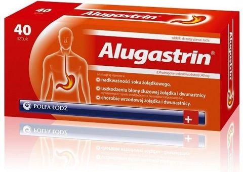 ALUGASTRIN x 40 tabletek