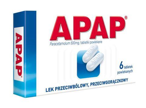 APAP 0,5 x  6 tabletek