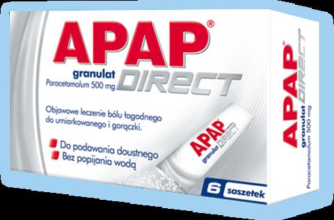 APAP Direct x 6 saszetek