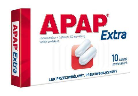 APAP Extra x 10 tabletek