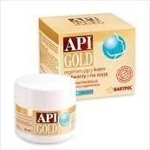API-GOLD BIO PROPOLIS Regenerujący krem do twarzy i na szyję 30ml